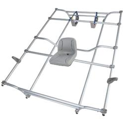 NRS Alley Cat Aluminum Cataraft Rowing Frame