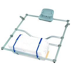 NRS Overnight Raft Rowing Frame, aluminum take-apart